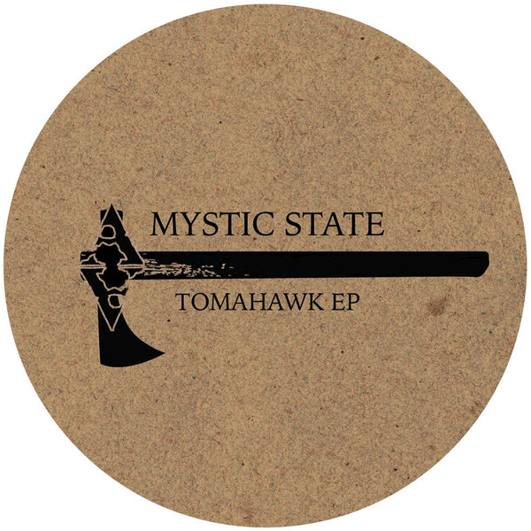 "Mystic State 'Tomahawk EP' 12"" (Clear Vinyl)"