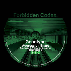 Fade / Genotype 'Crashing Stones / Agression Snare 10""