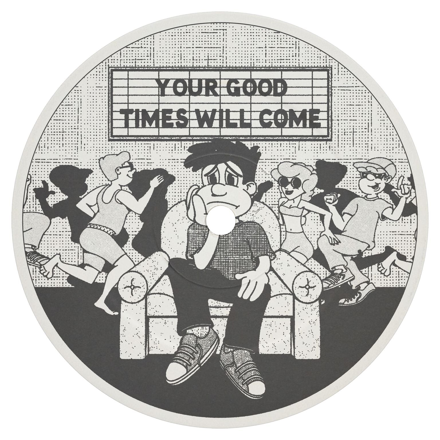 Laurence Guy 'Your Good Times Will Come EP' 12""