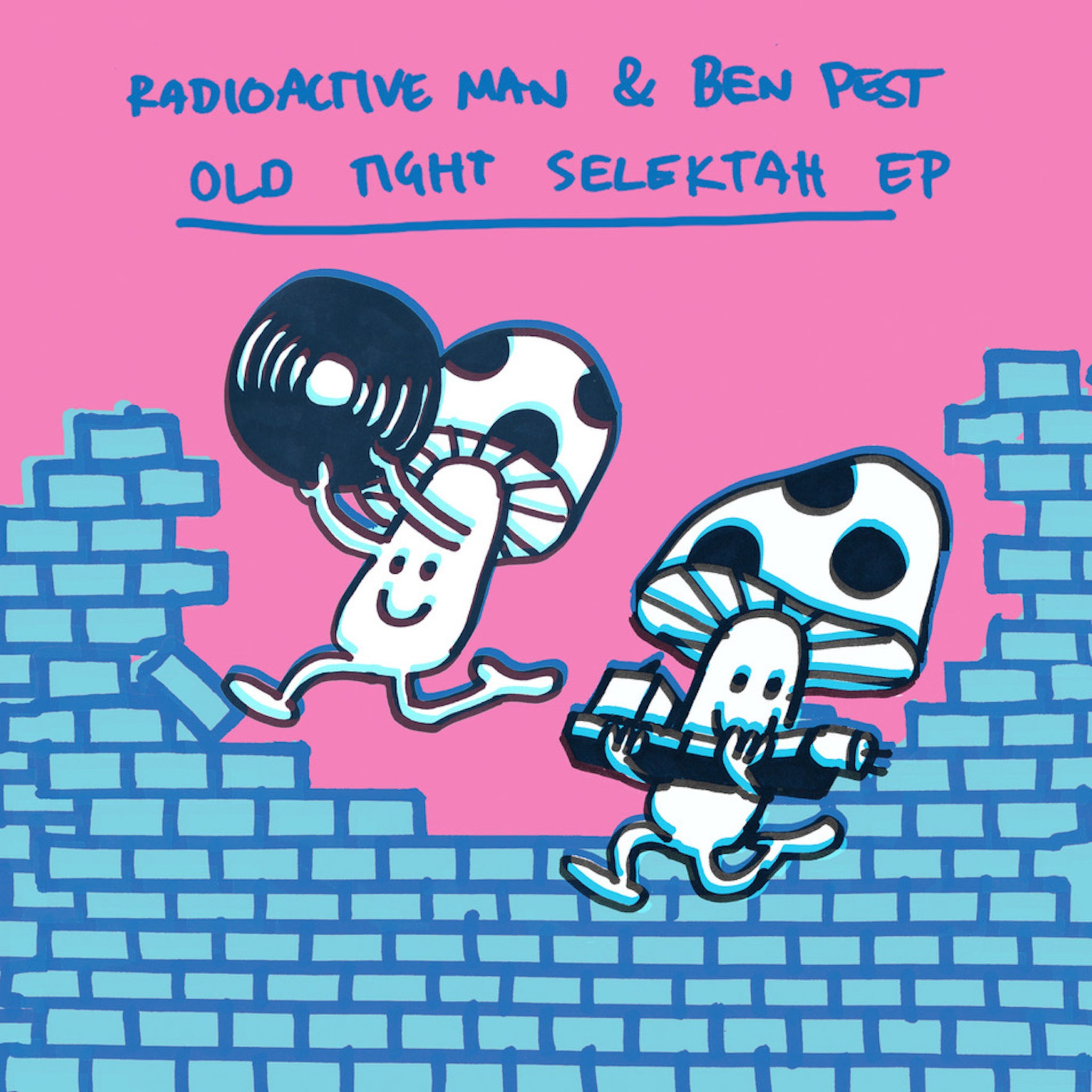 Radioactive Man & Ben Pest 'Old Tight Selektah EP' 12""