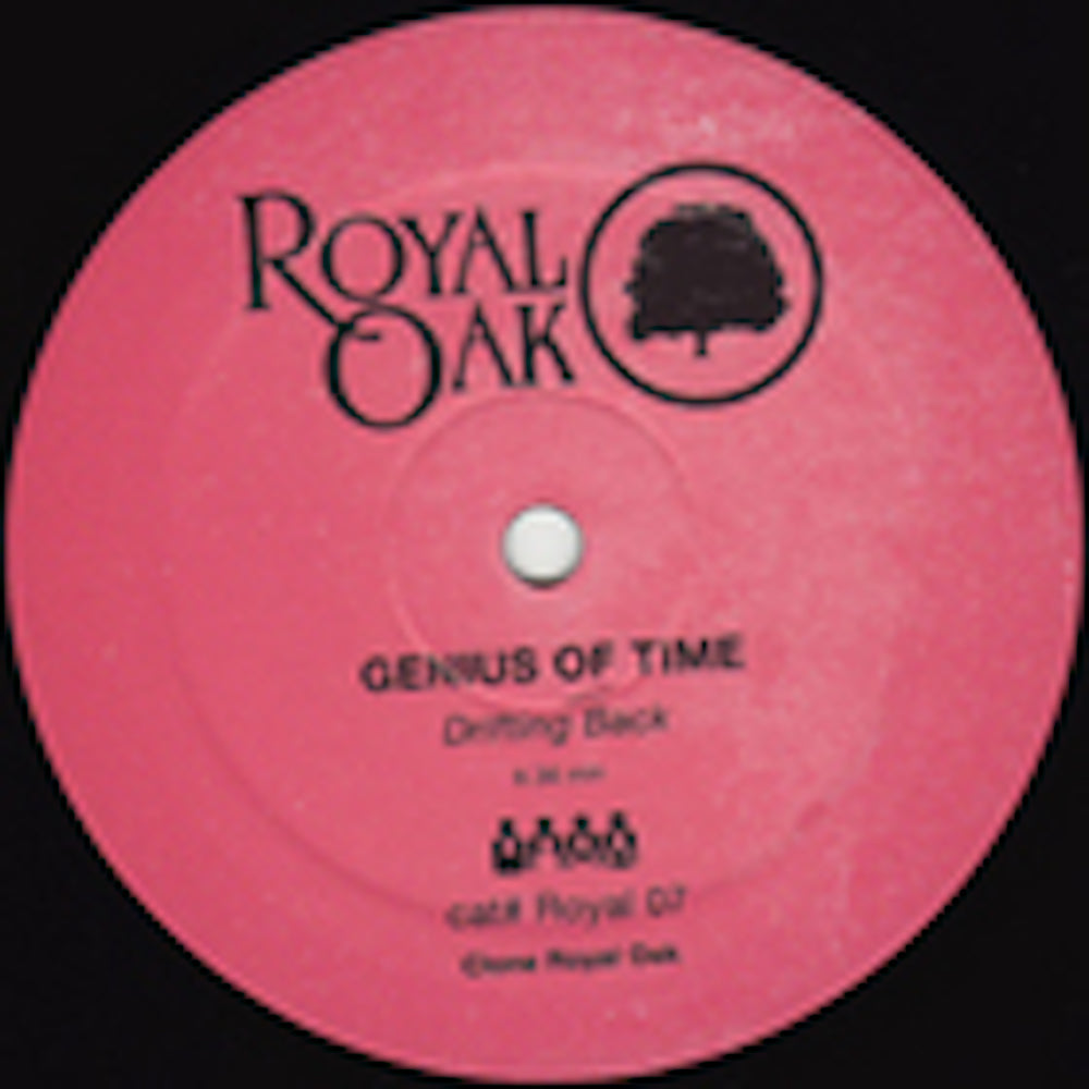 Genius Of Time 'Drifting Back / Houston We have a Problem' 12""