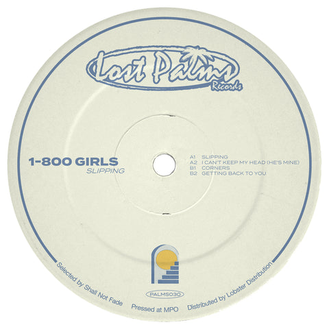 *PRE-ORDER* 1-800 Girls 'Slipping EP' 12""