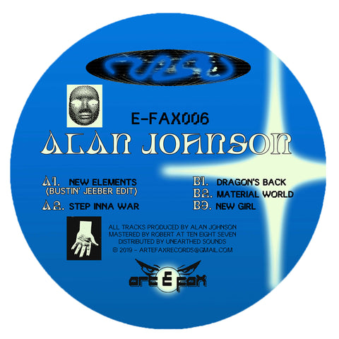Alan Johnson 'E-FAX006' 12""