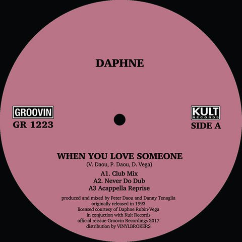 Daphne 'When You Love Someone' 12""