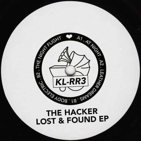 "The Hacker 'Lost & Found EP' 12"" (Repress) [Import]"