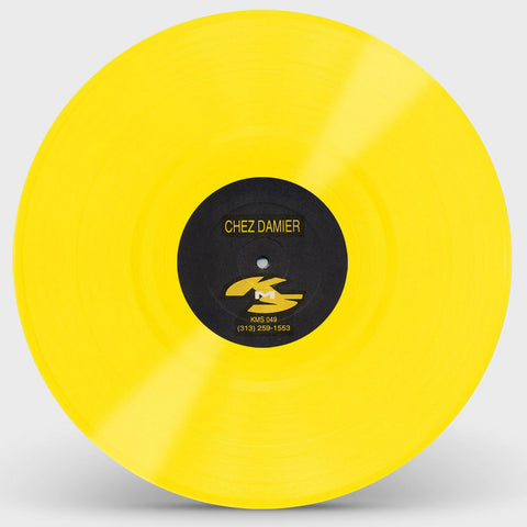 Chez Damier 'Untitled KMS049 (Yellow Vinyl repress)' 12""