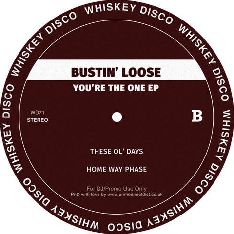 The Silver Rider / Bustin Loose 'You're the one EP' 12""