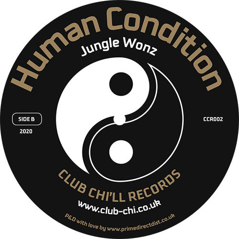 Marshall Jefferson / Jungle Wonz 'Vibe Three / Human Condition' 12""