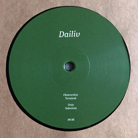 Dailiv 'Obstruction' EP