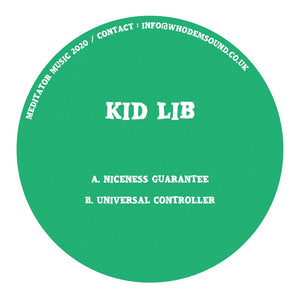 Kid Lib - MEDITATOR016 12""