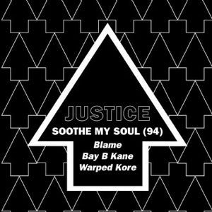 Justice 'Soothe My Soul (94) Remixes' 12""
