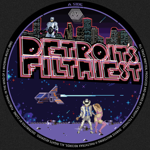 *PRE-ORDER* Detroit's Filthiest 'Please Play Again' 12""