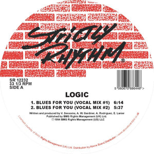 Logic 'Blues For You' 12""