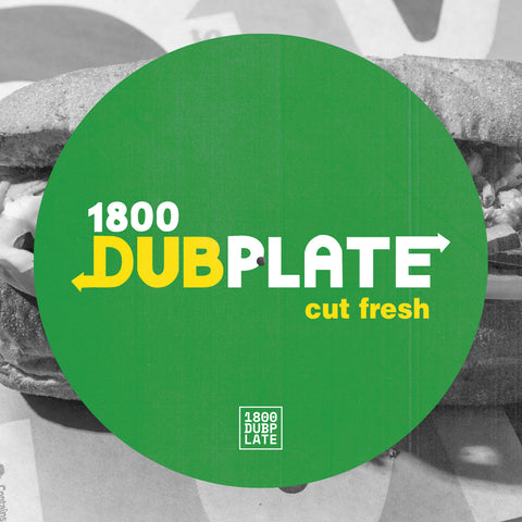 *PRE-ORDER* 1-800-Dubplate 'Cut Fresh' Slipmat