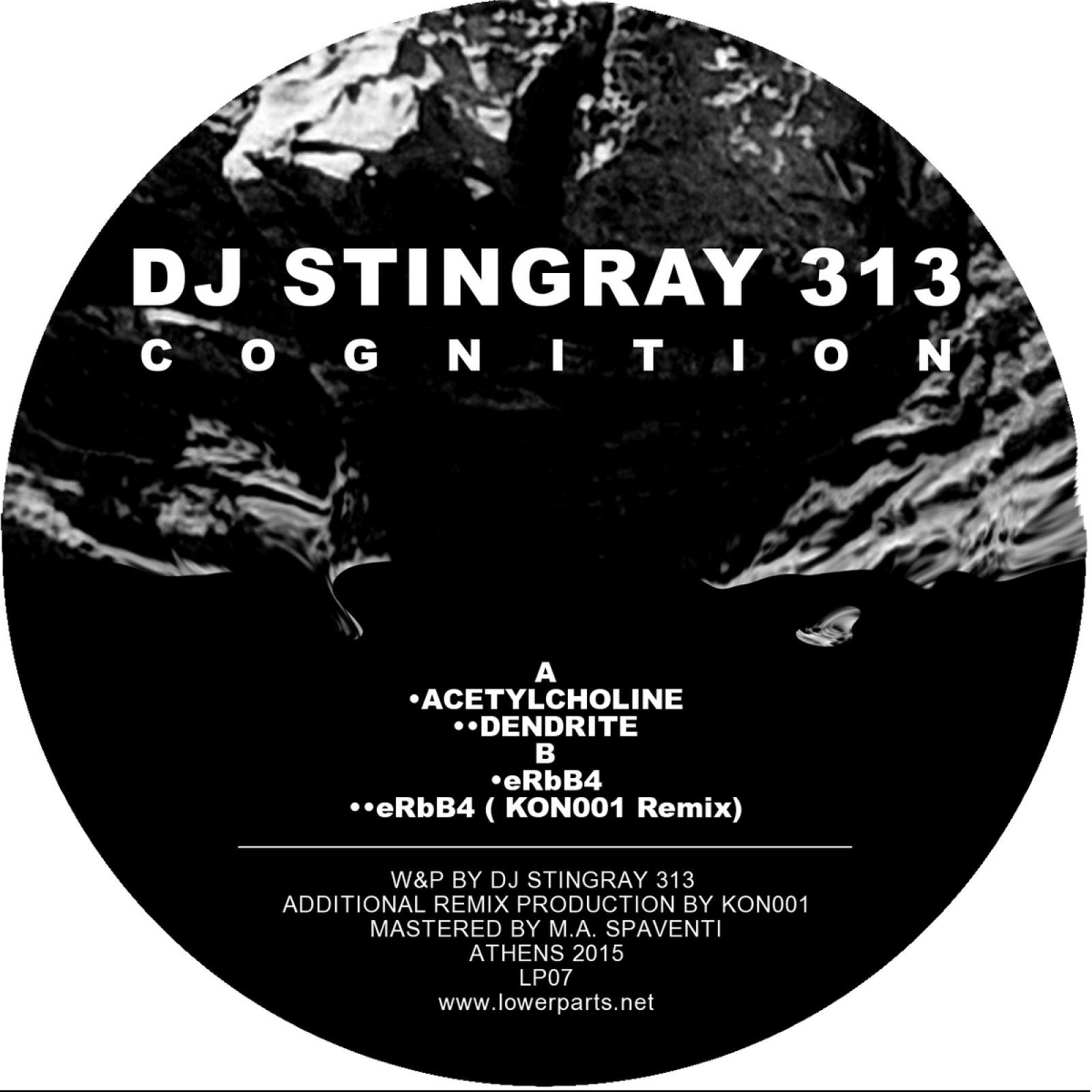 "DJ Stingray 313 'Cognition' 12"" (REPRESS)"