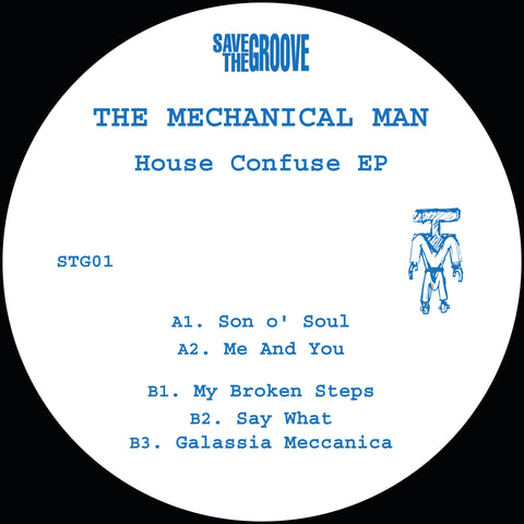 The Mechanical Man  'House Confuse EP' 12""