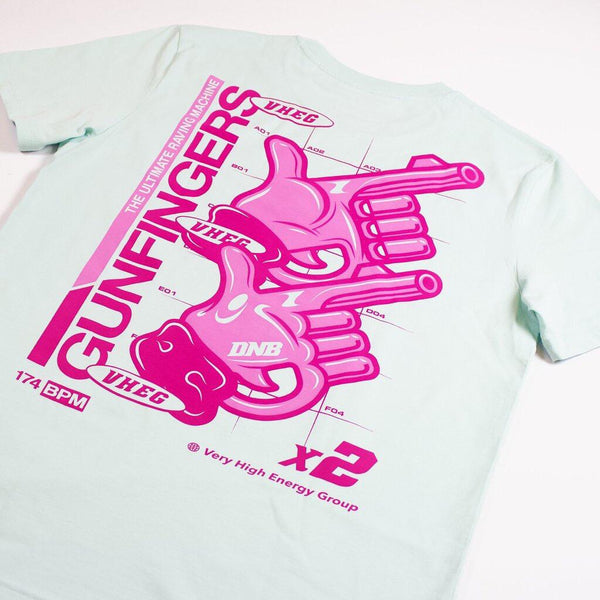 VHEG 'Gun Fingers' T-Shirt (Light)