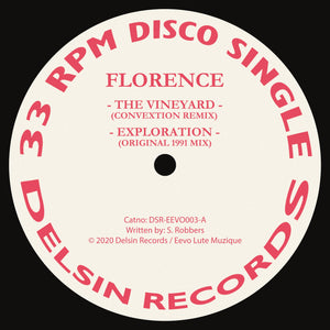 Florence 'The Vineyard (Convextion & Peter Ford Remixes)' 12""