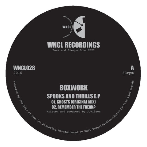 Boxwork 'Spooks and Thrills EP' 12""