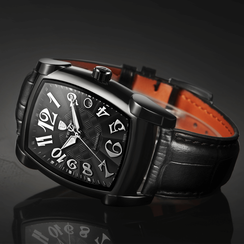 Tevise full black watch