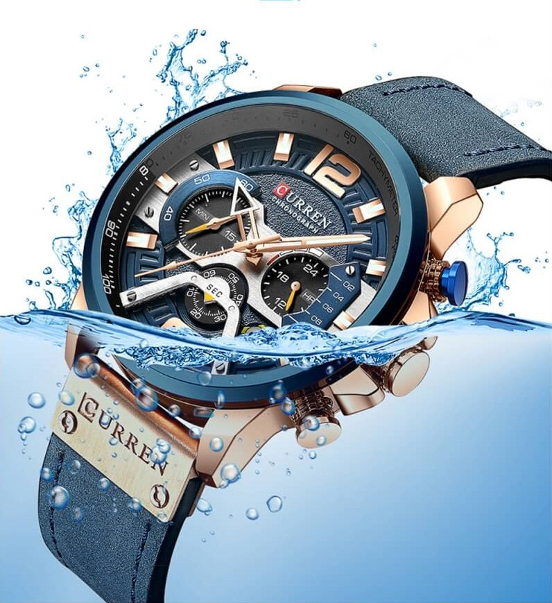 Curren 8329 water resistant