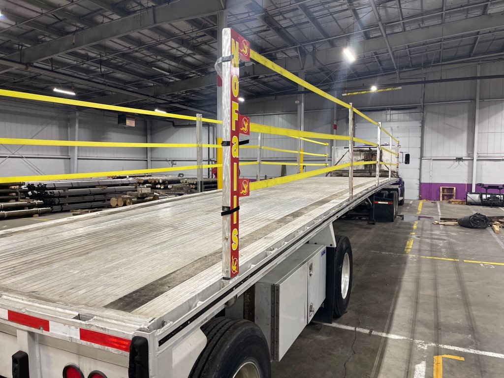 Reduce injuries by installing flatbed prevention system