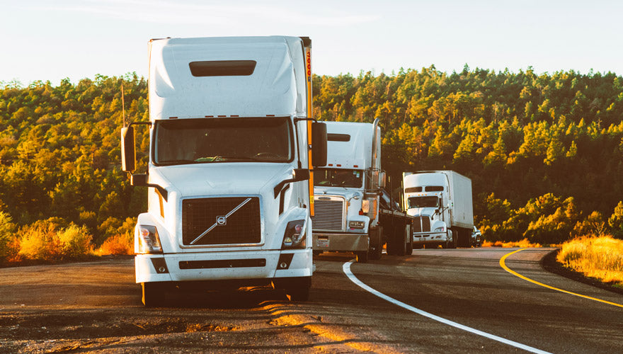 Safety tips for truck drivers is to park safely when tired