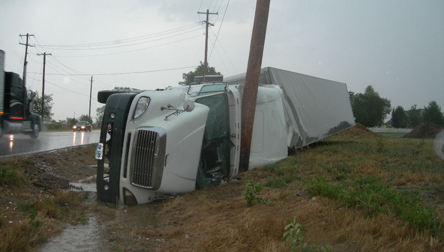 Practice good driver behavior in your driving job to increase road safety in the trucking industry