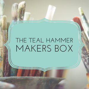 The Teal Hammer Makers Box