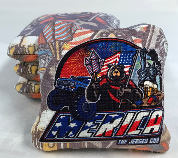 Jersey Guy Merica Limited Edition Cornhole Bags