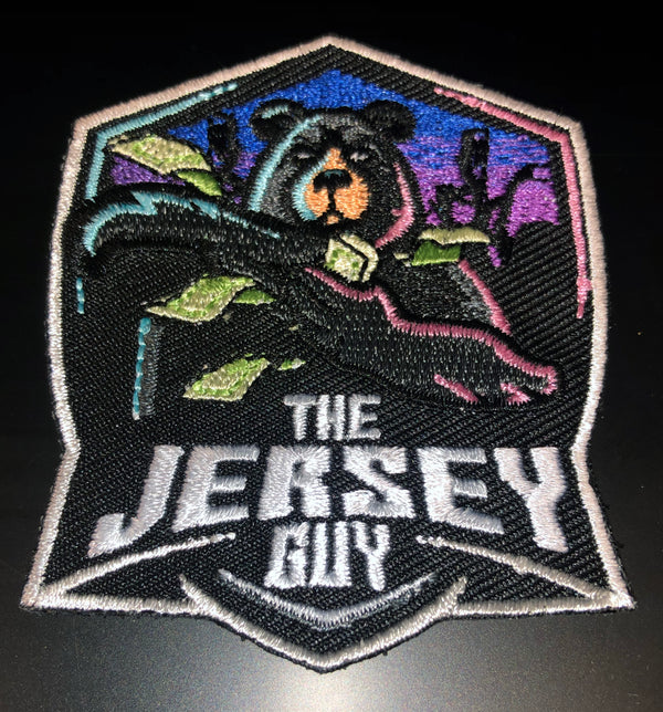Jersey Guy Hustler Patch- Single