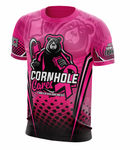 Cornhole Cares for Cancer Awareness Jersey Guy Jersey