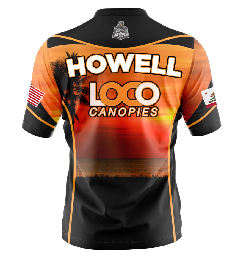 Loco Canopies - Team Jersey Sunset