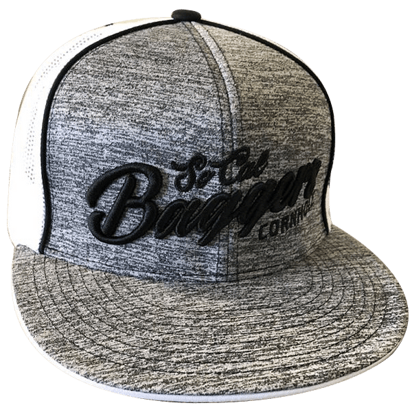 Socal Baggers Flexfit Mesh Hat Gray