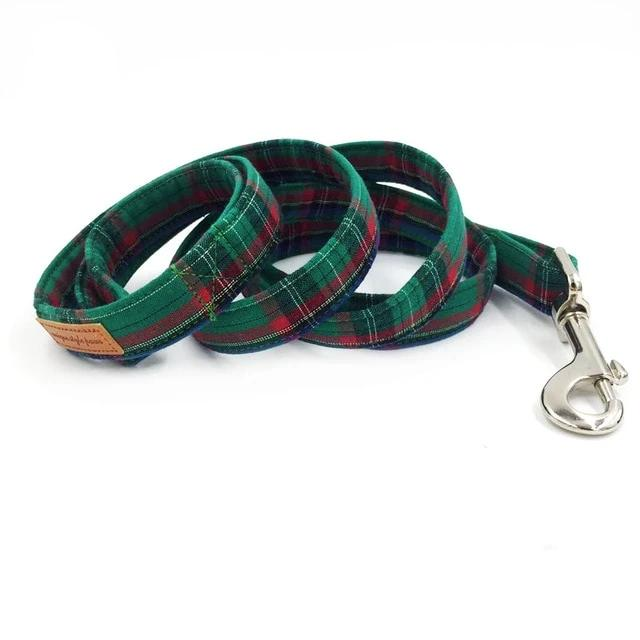 Dog Collar and Leash Set with Bow Tie - Our Soul Tonic
