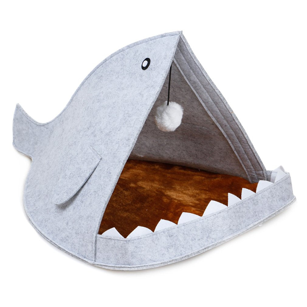 Whale Shape Cat Bed - Our Soul Tonic