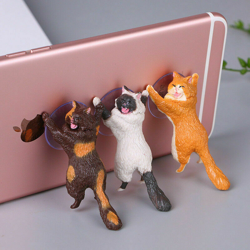 Cute Cat Phone Holder - Our Soul Tonic