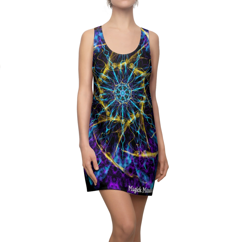 Magick Mandalas 'A Dare to Dream' Women's Cut & Sew Racerback Dress - Magick Mandalas