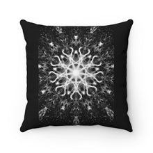 Load image into Gallery viewer, Magick Mandalas 'A Disillusioned Prayer' Spun Polyester Square Pillow Case - Magick Mandalas