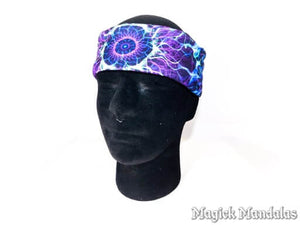 'Sorrow Forgiven' Stretchy Microfiber Multi Use Bandana - Magick Mandalas