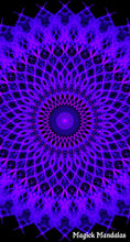 Load image into Gallery viewer, 'Aetherborn' Stretchy Microfiber Multi Use Bandana - Magick Mandalas