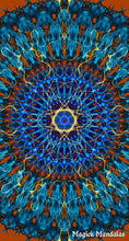 Load image into Gallery viewer, 'Ancient Secret' Stretchy Microfiber Multi Use Bandana - Magick Mandalas