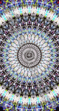 Load image into Gallery viewer, 'Unleashed' Stretchy Microfiber Multi Use Bandana - Magick Mandalas