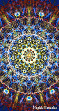 Load image into Gallery viewer, 'Observer' Stretchy Microfiber Multi Use Bandana - Magick Mandalas
