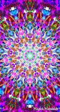 Load image into Gallery viewer, 'There's Always Rainbows' Stretchy Microfiber Multi Use Bandana - Magick Mandalas