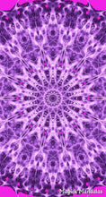 Load image into Gallery viewer, 'Wave of Emotion' Stretchy Microfiber Multi Use Bandana - Magick Mandalas