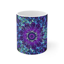 Load image into Gallery viewer, Magick Mandalas 'Magick Trinity' Mug 11oz - Magick Mandalas