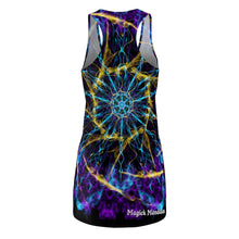 Load image into Gallery viewer, Magick Mandalas 'A Dare to Dream' Women's Cut & Sew Racerback Dress - Magick Mandalas