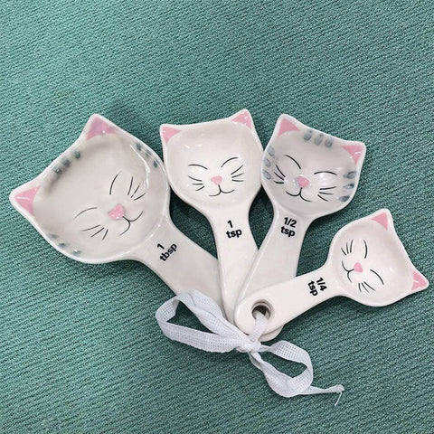 Bean Estore Cat Shaped Measuring Spoon Set