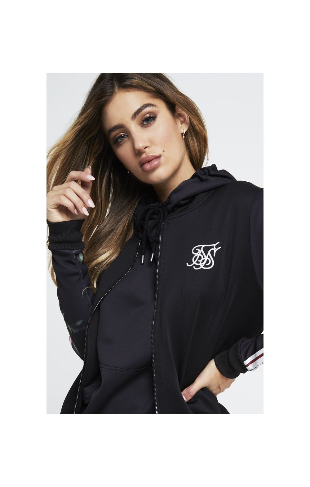 SikSilk Oil Paint Poly Bomber - Black (5)